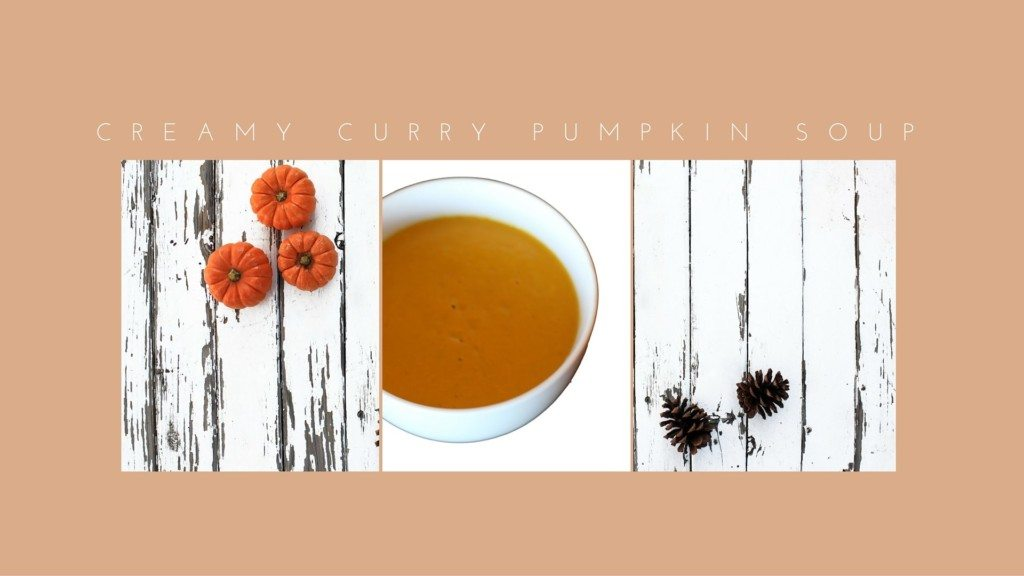 Creamy Curry Pumpkin Soup - chefv.com