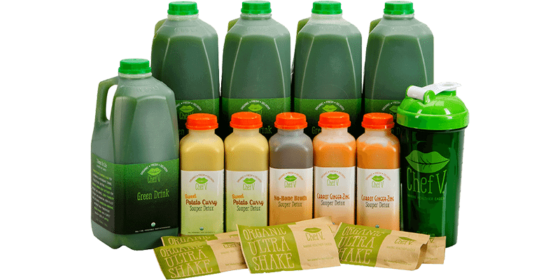 5 Day Cleanse Organic Weight Loss Detox Delivery Chefv Com