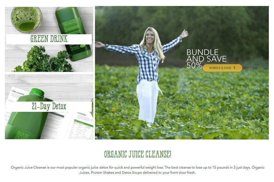 Organic Juice Cleanse - Chefv.com