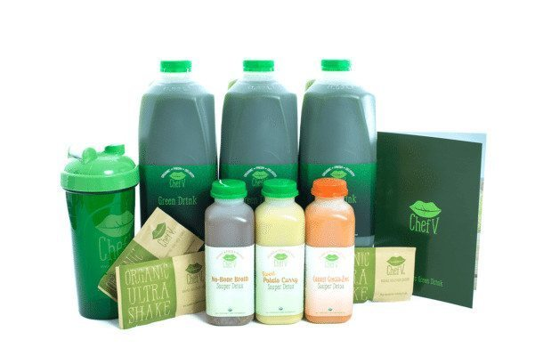3 Day Cleanse - Cleanse Product Shot - Chefv.com